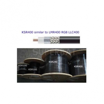 RF Coaxial Low Loss Cable KSR400 equivalent to LMR400
