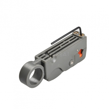 Rotary Coaxial Cable Stripper tool for RG-59 RG-6 RG-58 LMR195