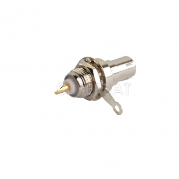 BNC Plug Male Connector Straight Bulkhead Solder