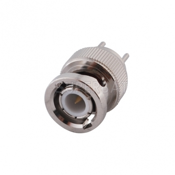 BNC Plug Male Connector Straight Solder