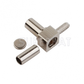 MS-147 Plug Male Connector Right Angle for RG316