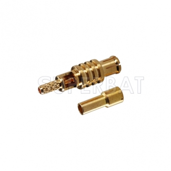 MCX Plug Male Connector Straight Solder 1.13mm