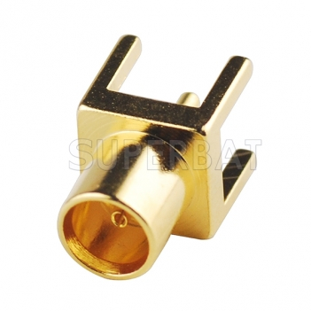 MCX Jack Female Connector Straight Solder