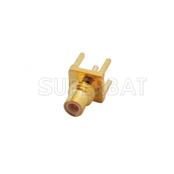 SMC Jack Male Connector Straight Solder