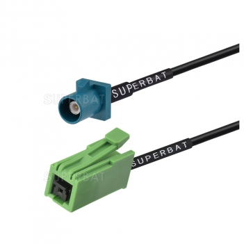 Antenna GPS FAKRA Z Male code connector male to GT5-IS Jack RG174 Cable