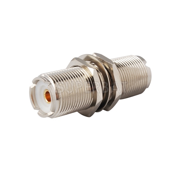 5x UHF SO239 Jack Female to N-Type Female RF  Straight Coaxial Connector Adapter