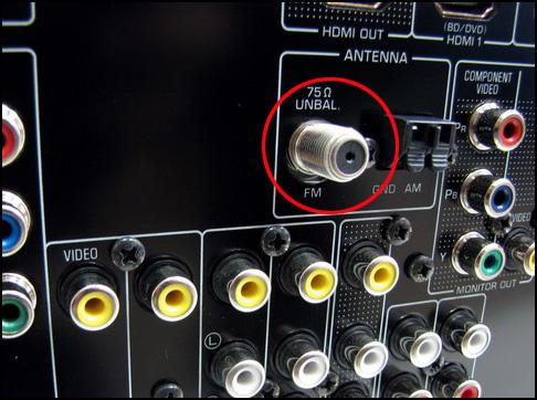 Superbat Indoor Fm 75 Ohm Unbal F Type Male Replacement