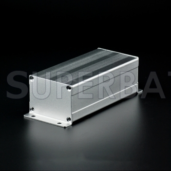 Aluminum Enclosure Case Tube with Flange 52mm*38mm*110mm(W*H*L)