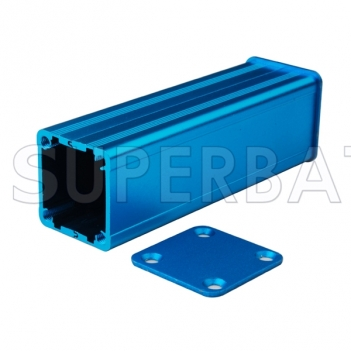 Aluminum Enclosure Case Split Body 24.5mm*24mm*80mm(W*H*L)