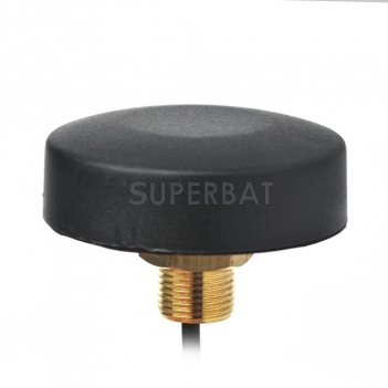 Superbat GPS  Antenna Thru Hole Screw Mount SMA Connector for Car Truck RV GPS Navigation Head Unit