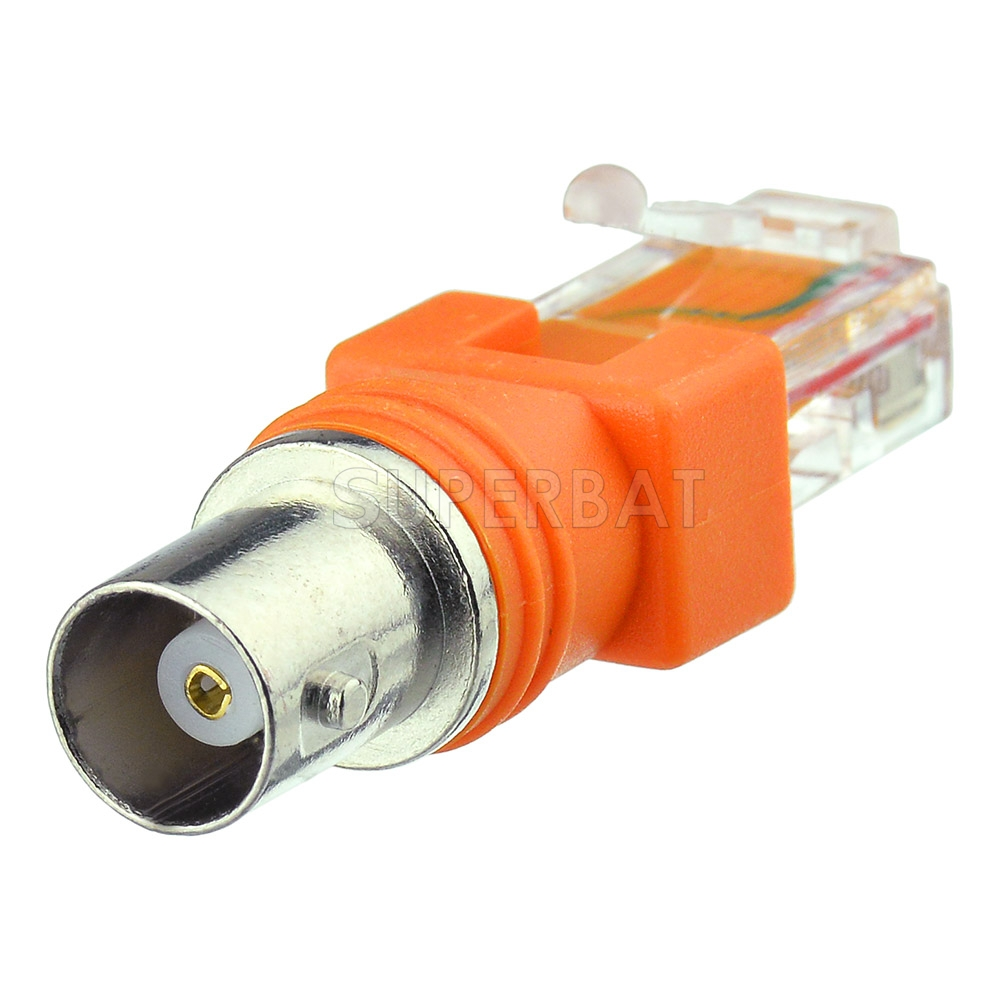 5 PCS BNC Female to Female coupler Adapter  Plug Connector  Coaxial Cable