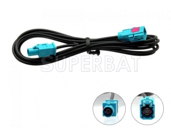 Sperbat Fakra Male to Fakra Female 3 Meter Aerial Extension Cable Lead