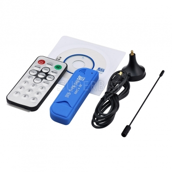 Superbat DAB DVB-T DVB-T2 Digital TV RTL2832U+R820T2 RTL SDR USB Stick Receiver Tuner Set