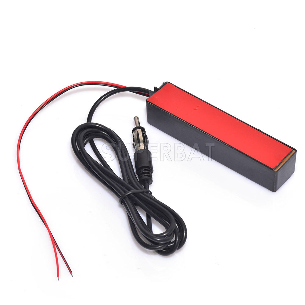 12V Car Stereo AM/FM Radio Windshield Electronic Hidden Amplified