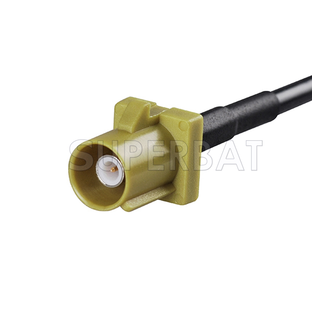 Car Trucks Satellite Radio Antenna Adapter Cable Rg174 With Type Fakra