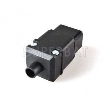 IEC 320 Standard Power Cable Cord Connector C20 Plug 16A/250V