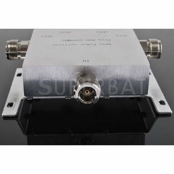 800-2500MHz 4-way Power Divider N female connector