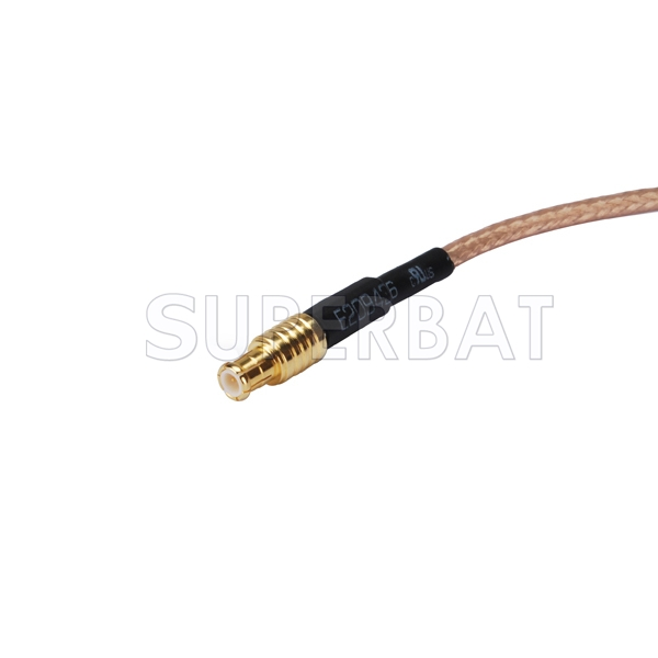 Straight MCX male to BNC female pigtail cable for RTL-SDR dongles