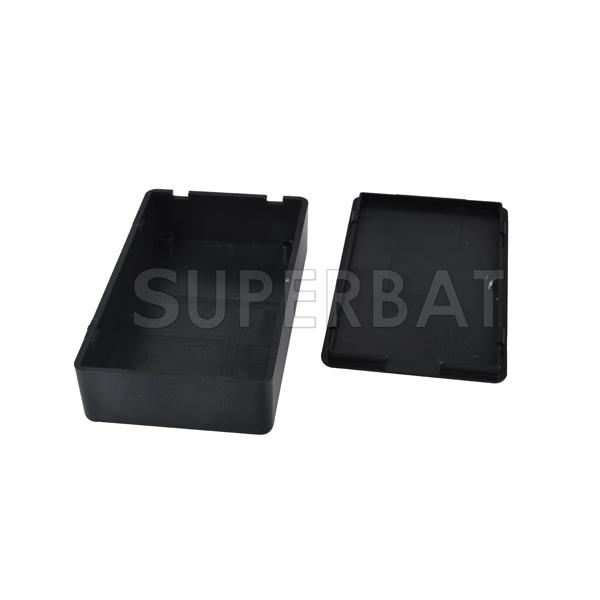 Black Plastic Project Box Enclosure Instrument Case Electronic 85*50*21mm ^~^