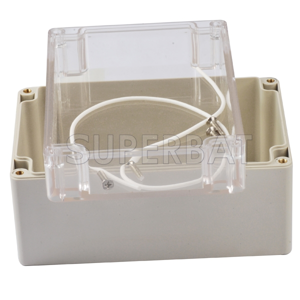 160x110x90mm Waterproof Clear Plastic Electronic Project Box Enclosure Case R/_H4