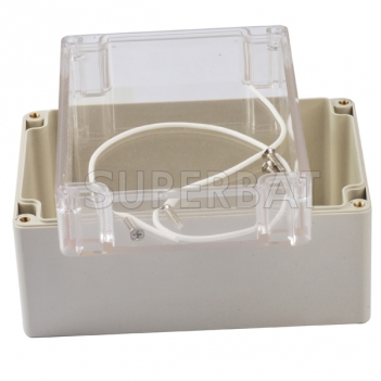 160x110x90 Waterproof Clear Cover Plastic Electronic Project Box Enclosure Case