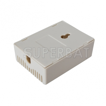 "Plastic Box Junction Case-2.95""*2.12""*1.06""(L*W*H)"