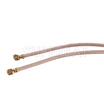 2.4 Ghz WIFI IPX/IPEX Antenna Cable Two Double IPX /u.fl to SMA Male Cable RG178