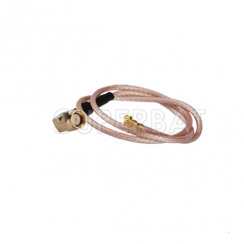 IPX / u.fl to RP-SMA male right angle Pigtail 50 Ohm Cable RG178 15cm