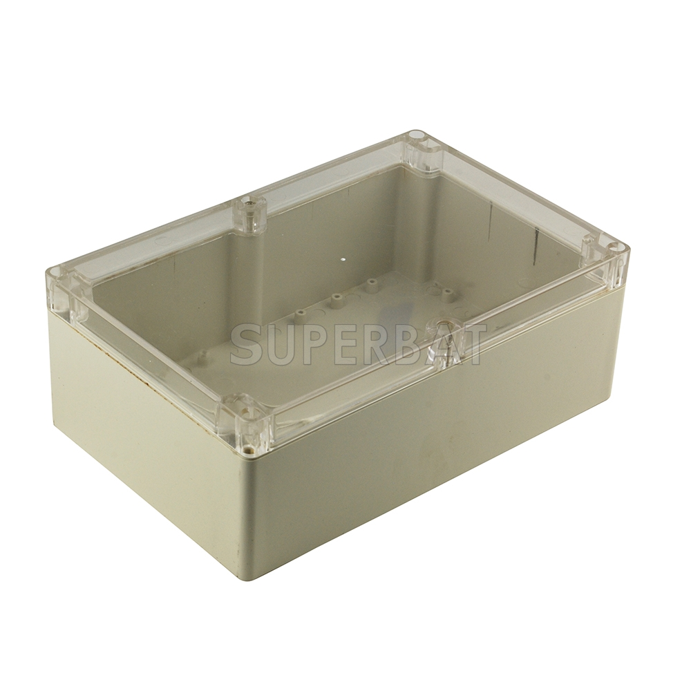 85x58x33 Waterproof Clear Cover Electronic Cable Project Box Enclosure Case H4