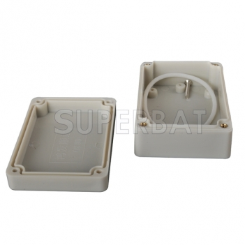 Waterproof Plastic Electronic Project Enclosure Instrument case DIY - 84*59*33mm