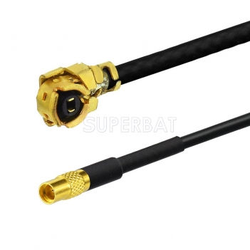 MMCX Female Jack To U.FL IPX Adapter Pigtail Cable