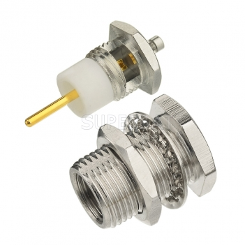 FME Plug Male Connector Straight Solder 1.13mm