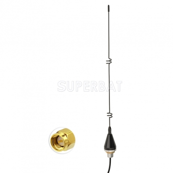 868MHZ antenna 5dbi with Extension cable RG174 160cm SMA plug