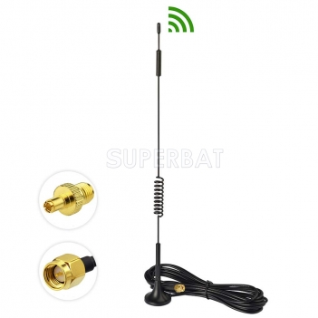 4G LTE 7dBi Magnetic Base TS9 / SMA Male Antenna for Huawei Netgear Sierra Wireless 4G LTE Router Gateway Security IP Camera Cell Phone Signal Booster