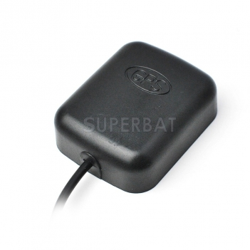 Superbat Vehicle Car Dash Cam Active GPS Antenna with 3.5mm Audio Connector for Car Truck SUV Dash Cam DVR Recorder GPS Tracker Receiver