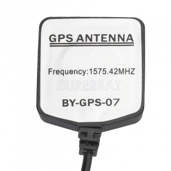 Superbat Gray AVIC GPS mini Magnetic base Antenna Aerial Connector Cable for Pioneer GPS Navigation Receiver