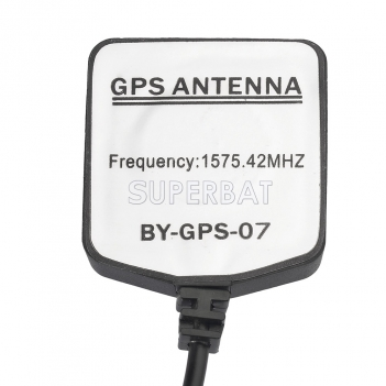 Superbat Green AVIC GPS mini Magnetic base Antenna Aerial Connector Cable for Pioneer GPS Navigation Receiver