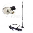 4G LTE 7dBi Magnetic Base  Antenna  With Right Angle TS9 Connector For Mobile Hotspot Router USB Modem