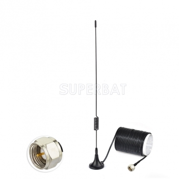 Magnetic Base FM Antenna for Denon Pioneer Onkyo Yamaha radio raceiver